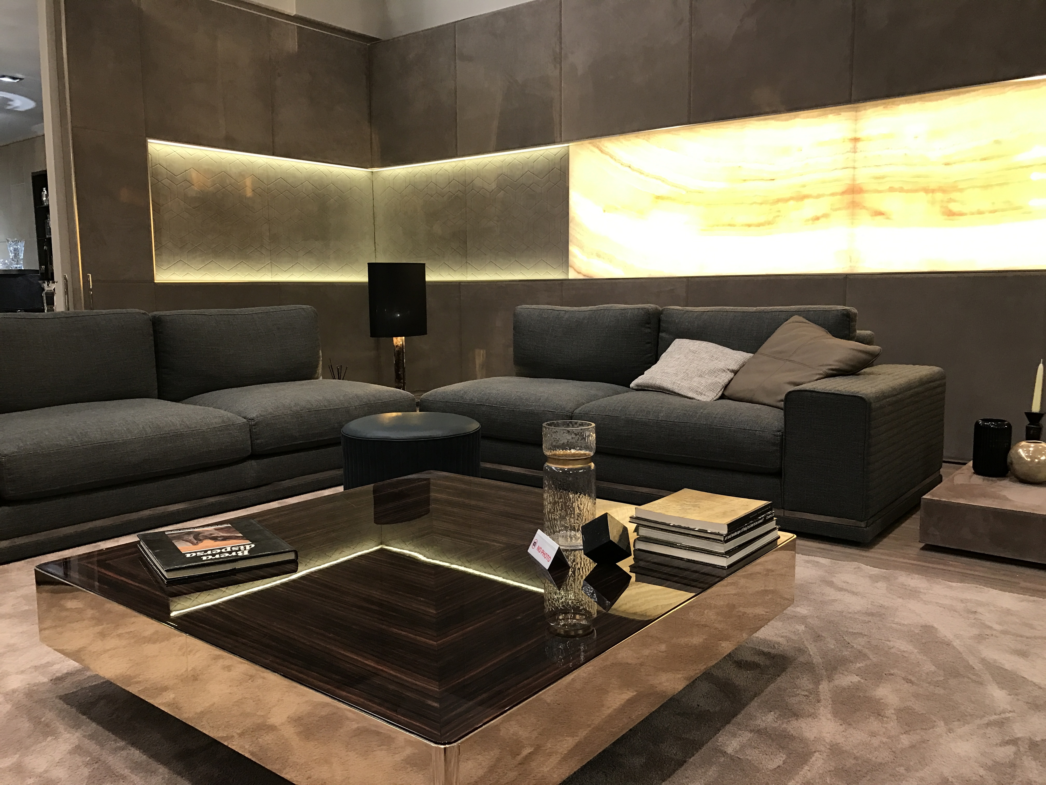 Luxury Italian Designer Cohen Sectional – Italian Designer & Luxury Inside Cohen Down 2 Piece Sectionals (Image 15 of 25)
