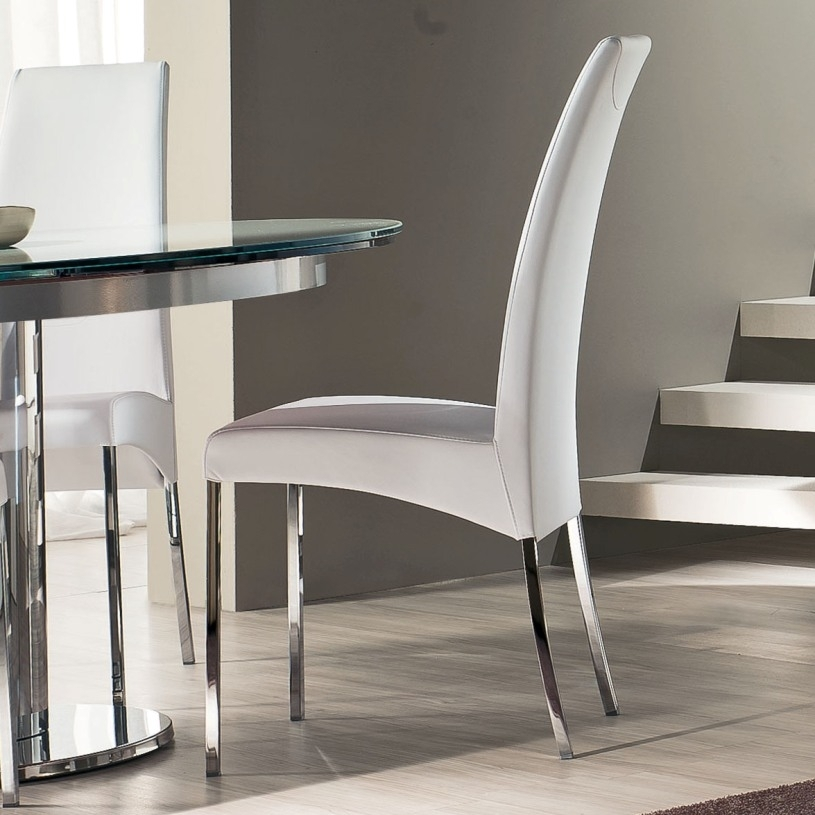 Luxury Simplicity Of Modern White Dining Chairs Dining Counter With Contemporary Dining Room Chairs (Image 19 of 25)