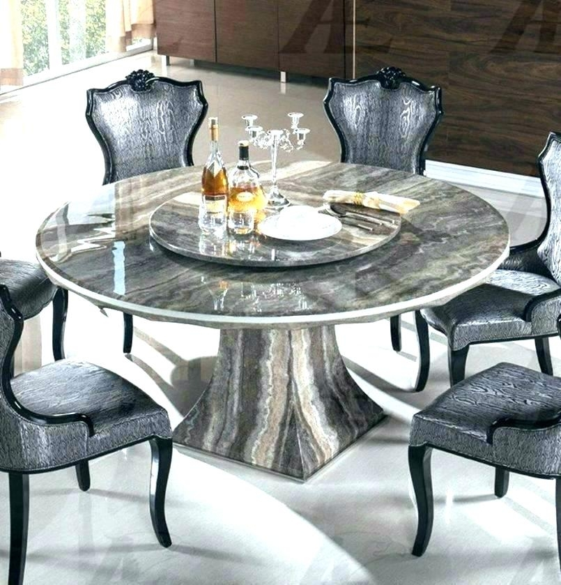 Luxury Solid Marble Dining Table Real Set Italian Round Design Room Intended For Solid Marble Dining Tables (View 21 of 25)