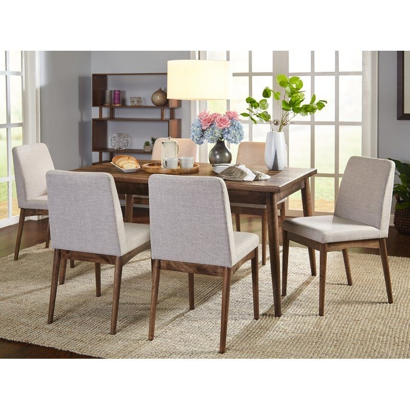 Lydia 7 Piece Dining Set In 2018 | Sea & Sand | Pinterest | 7 Piece Pertaining To Delfina 7 Piece Dining Sets (View 13 of 25)