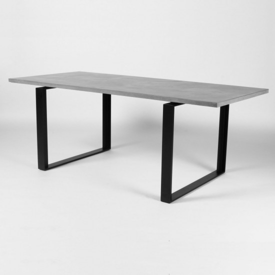 Lyon Beton Alps Concrete Dining Table | Lyon Beton| Beut.co (Image 9 of 25)