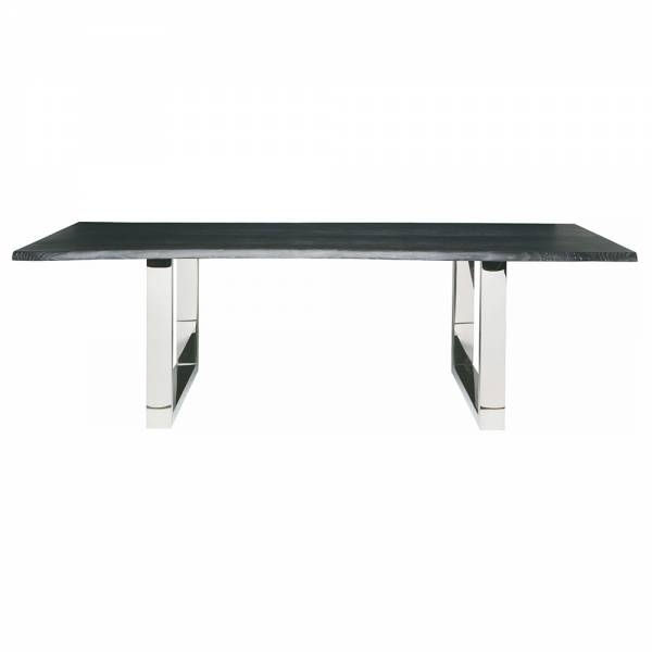 Lyon Dining Table – Gray Silver – Rouse Home Throughout Lyon Dining Tables (Image 11 of 25)
