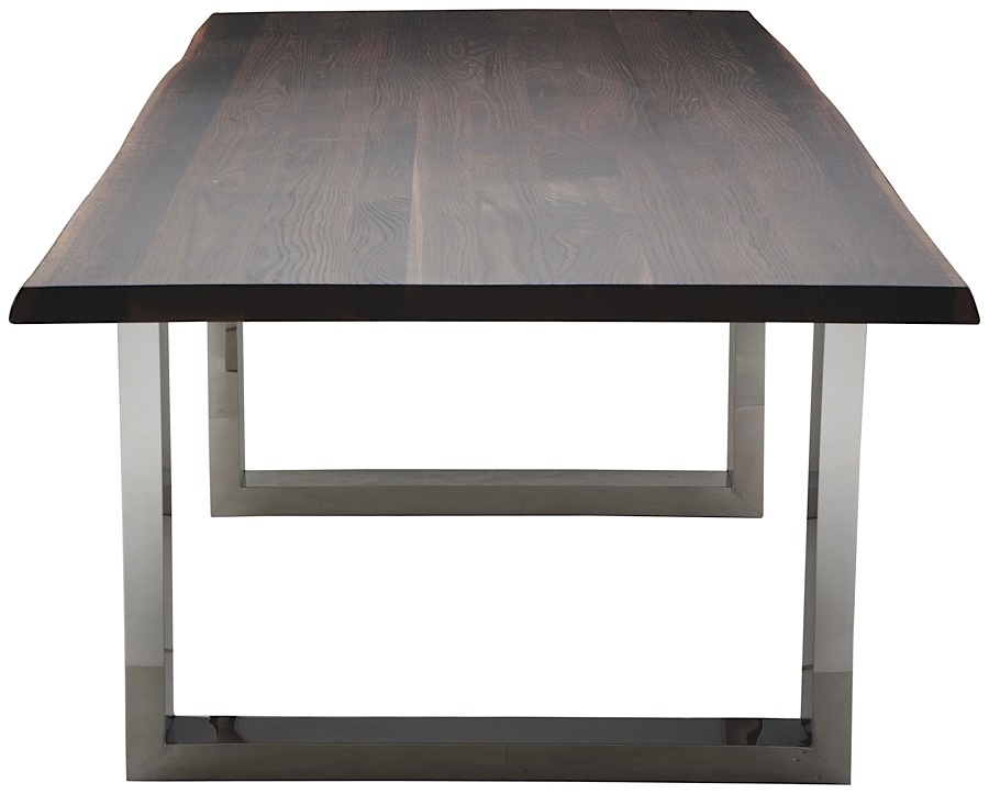 Lyon Dining Table Seared Oak | 78"