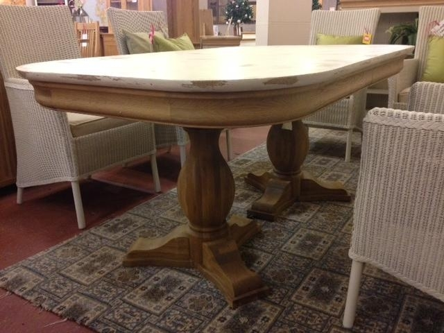 Lyon Shabby Chic Extending Dining Table – Second With Regard To Shabby Chic Extendable Dining Tables (Image 9 of 25)