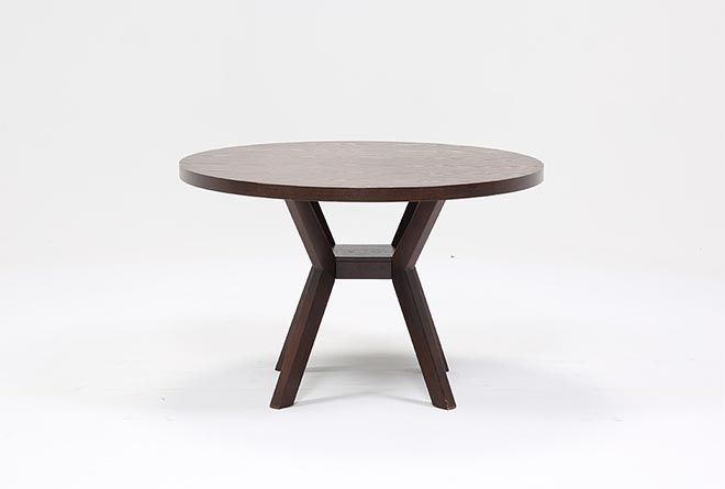 Macie Round Dining Table | Living Spaces In Macie Round Dining Tables (Image 13 of 25)