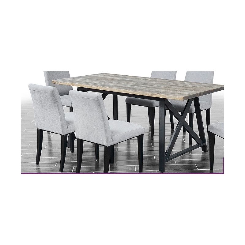 Macy Metal Dining Set Throughout Macie 5 Piece Round Dining Sets (Image 20 of 25)