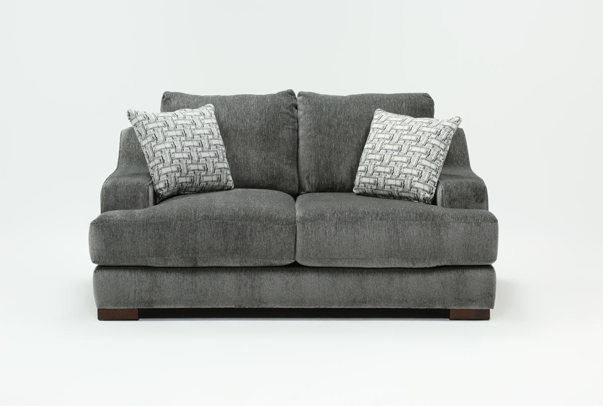 Maddox Loveseat | Living Spaces Regarding Turdur 2 Piece Sectionals With Laf Loveseat (Image 15 of 25)