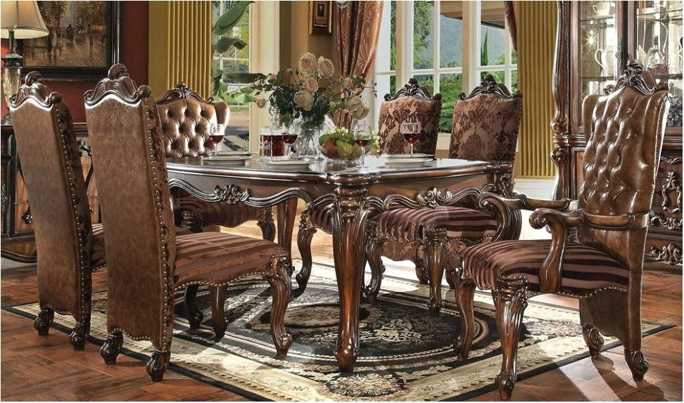 Magnificent Reclaimed Wood Dining Table Traditional Dining Tables Pertaining To Traditional Dining Tables (View 6 of 25)