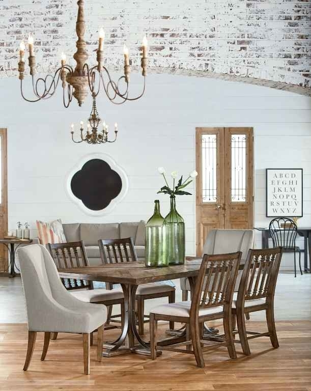 Magnolia Dining Table – Clamshellmelts With Magnolia Home Sawbuck Dining Tables (Image 10 of 25)