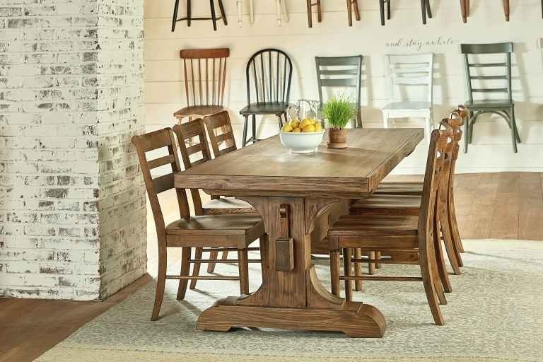 Magnolia Dining Table – Clamshellmelts Within Magnolia Home Double Pedestal Dining Tables (View 21 of 25)