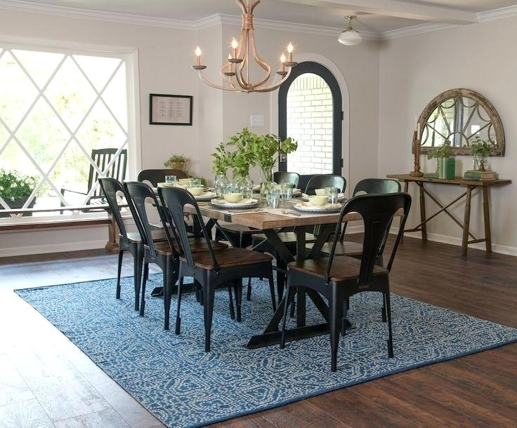 Magnolia Dining Table Magnolia Home Keyed Trestle Table Setting Pertaining To Magnolia Home Keeping Dining Tables (Image 5 of 25)