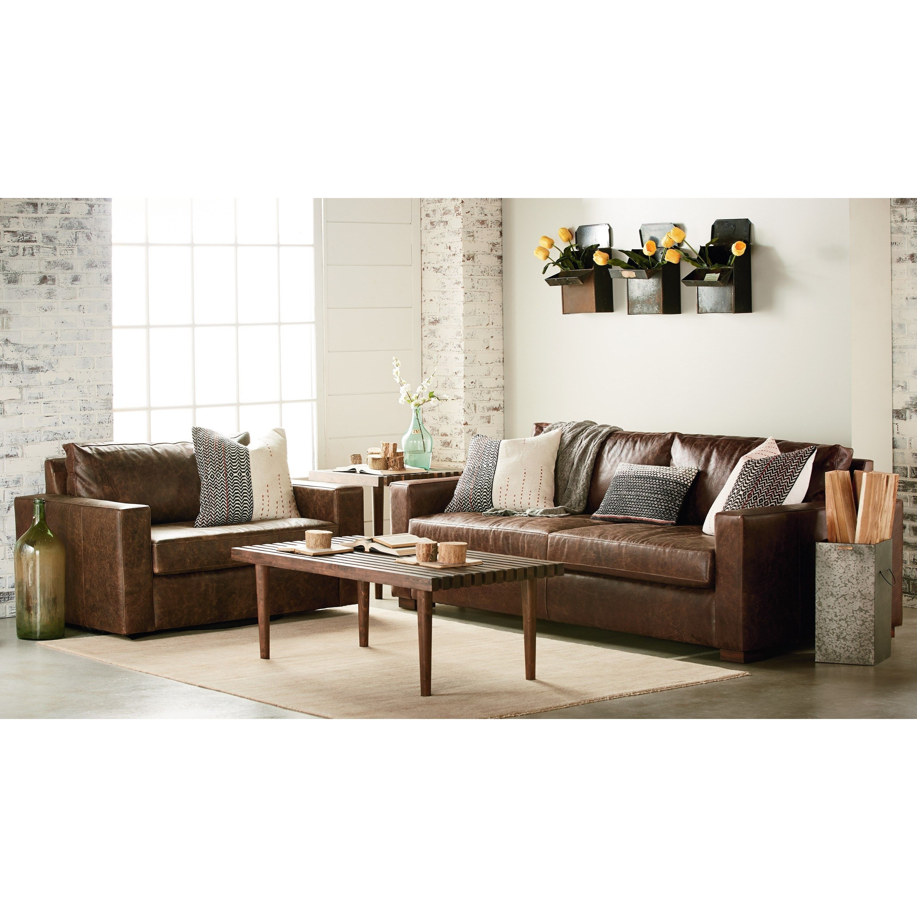 Magnolia Furniture Leather Sofa   Baci Living Room Inside Magnolia Home Homestead 3 Piece Sectionals By Joanna Gaines (Image 14 of 25)