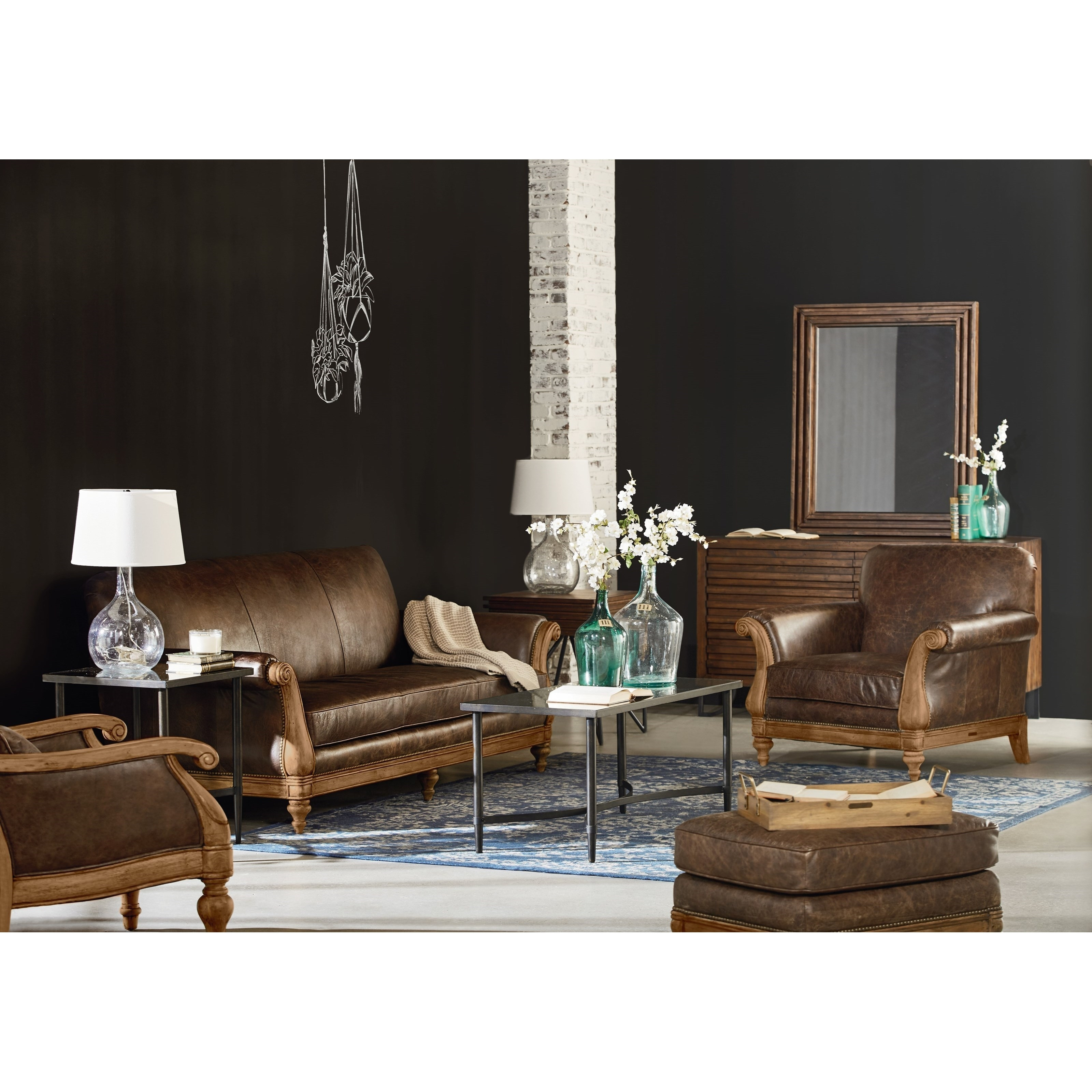 Magnolia Furniture Leather Sofa | Baci Living Room Regarding Magnolia Home Homestead 4 Piece Sectionals By Joanna Gaines (Image 11 of 25)