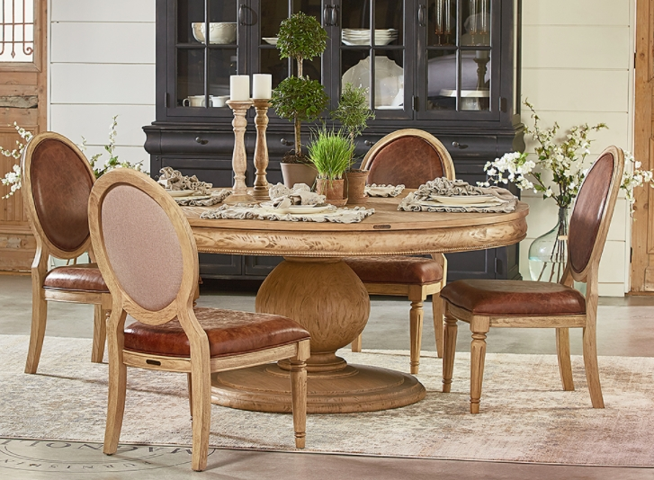 Magnolia Home Dining – Sigman Mills Furniture With Regard To Magnolia Home Double Pedestal Dining Tables (View 7 of 25)