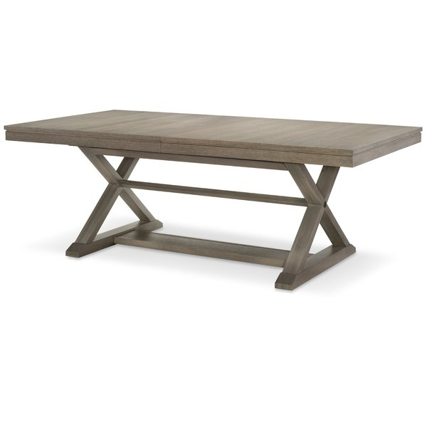 Magnolia Home Dining Table | Wayfair With Magnolia Home Taper Turned Bench Gathering Tables With Zinc Top (View 10 of 25)