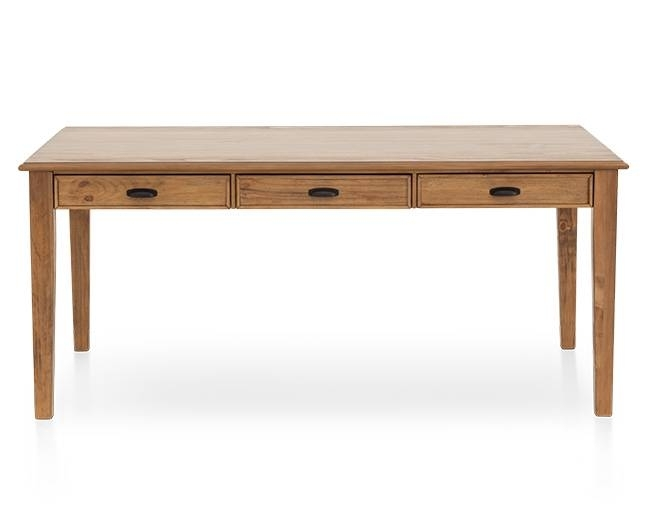 Magnolia Home Farmhouse Counter Height Table – Furniture Row Pertaining To Magnolia Home Taper Turned Jo's White Gathering Tables (Image 16 of 25)