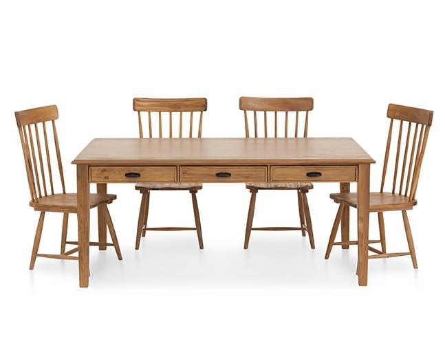 Magnolia Home Farmhouse Counter Height Table – Furniture Row With Regard To Magnolia Home Taper Turned Jo's White Gathering Tables (Image 18 of 25)