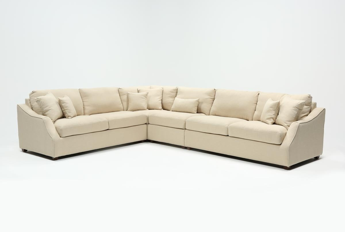 Featured Image of Magnolia Home Homestead 4 Piece Sectionals By Joanna Gaines