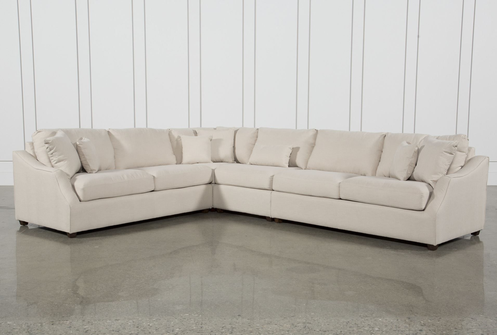 Magnolia Home Homestead 4 Piece Sectionaljoanna Gaines Pertaining To Harper Down 3 Piece Sectionals (Image 15 of 25)