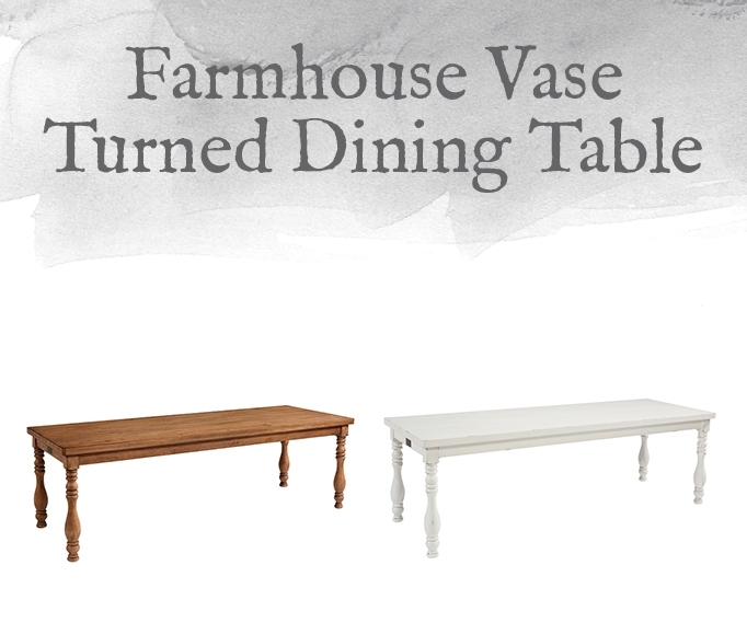 Magnolia Home Preview: Farmhouse Collection | Designgahs Inside Magnolia Home Taper Turned Jo's White Gathering Tables (View 20 of 25)