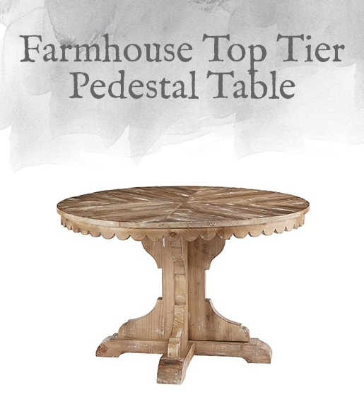 Magnolia Home Preview: Farmhouse Collection | Designgahs With Magnolia Home Top Tier Round Dining Tables (Image 14 of 25)