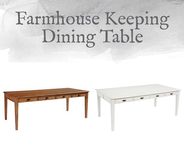 Magnolia Home Preview: Farmhouse Collection | Fixer Upper Style Pertaining To Magnolia Home Keeping Dining Tables (View 6 of 25)