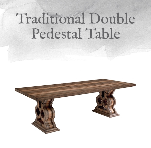 Magnolia Home Preview: Traditional Collection | Designgahs In Magnolia Home Double Pedestal Dining Tables (View 4 of 25)