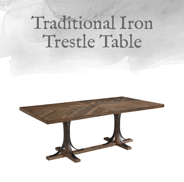 Magnolia Home Preview: Traditional Collection | Designgahs Within Magnolia Home Shop Floor Dining Tables With Iron Trestle (View 9 of 25)