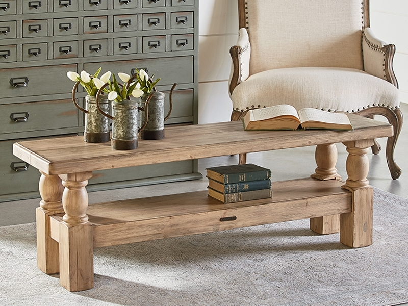 Magnolia Home With Magnolia Home Bench Keeping 96 Inch Dining Tables (Image 20 of 25)