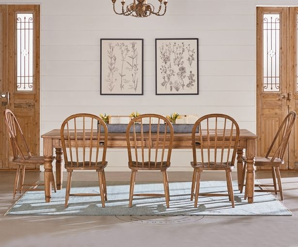 Magnolia Homejoanna Gaines: A Sneak Peek | Magnolia, Primitive Inside Magnolia Home English Country Oval Dining Tables (Image 23 of 25)