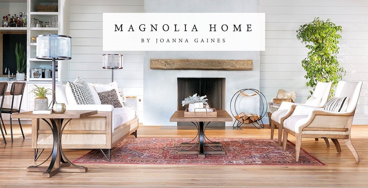 Magnolia Homejoanna Gaines At Living Spaces Regarding Magnolia Home Shop Floor Dining Tables With Iron Trestle (Image 19 of 25)