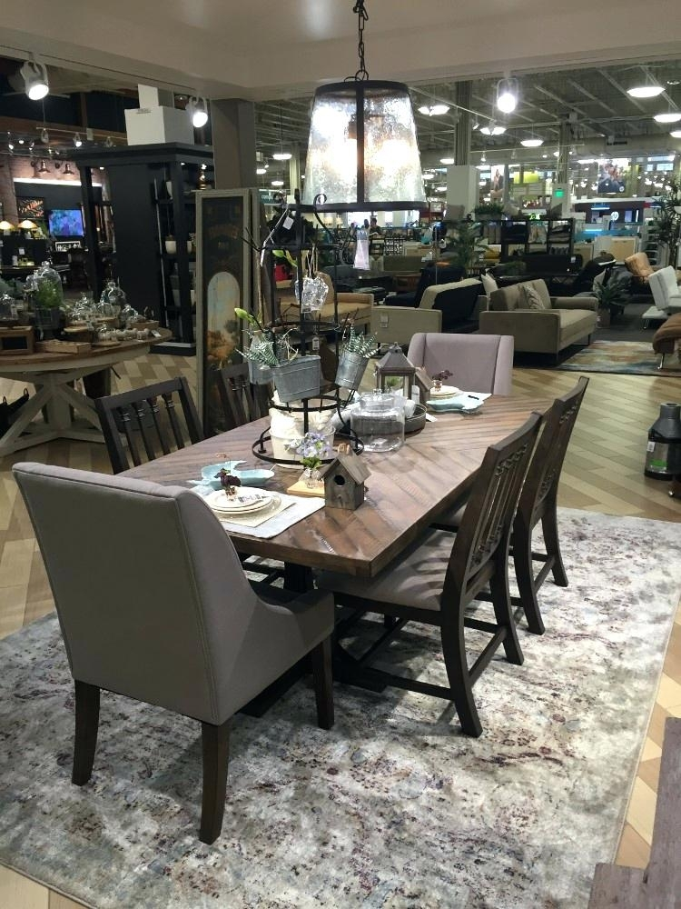 Magnolia Table – Rileywranglers Inside Magnolia Home Shop Floor Dining Tables With Iron Trestle (Image 20 of 25)