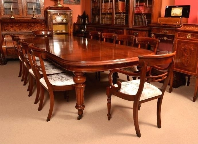 Mahogany Dining Room Set Mahogany Dining Room Sets Shield Back Pertaining To Mahogany Dining Table Sets (View 4 of 25)
