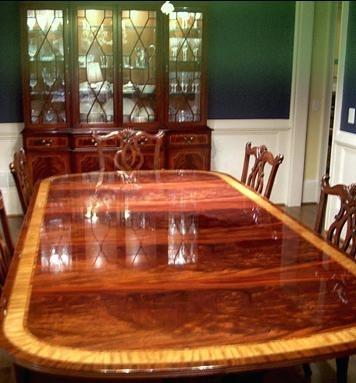 Mahogany Dining Room Set – Mundoreiki (Image 12 of 25)