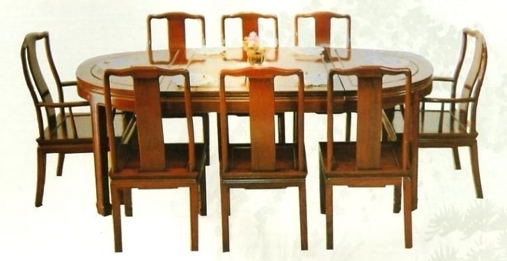 Mahogany Dining Room Table And 8 Chairs Sets Discontinued Antique In Dining Tables With 8 Chairs (Image 19 of 25)