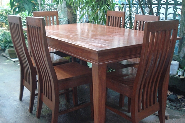 Mahogany Dining Table Philippines Ging#039;s Six Seater, Dining For Mahogany Dining Tables Sets (Image 21 of 25)