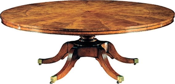 Mahogany Extending Round Dining Table | Dt6084 Intended For Extending Round Dining Tables (Image 15 of 25)