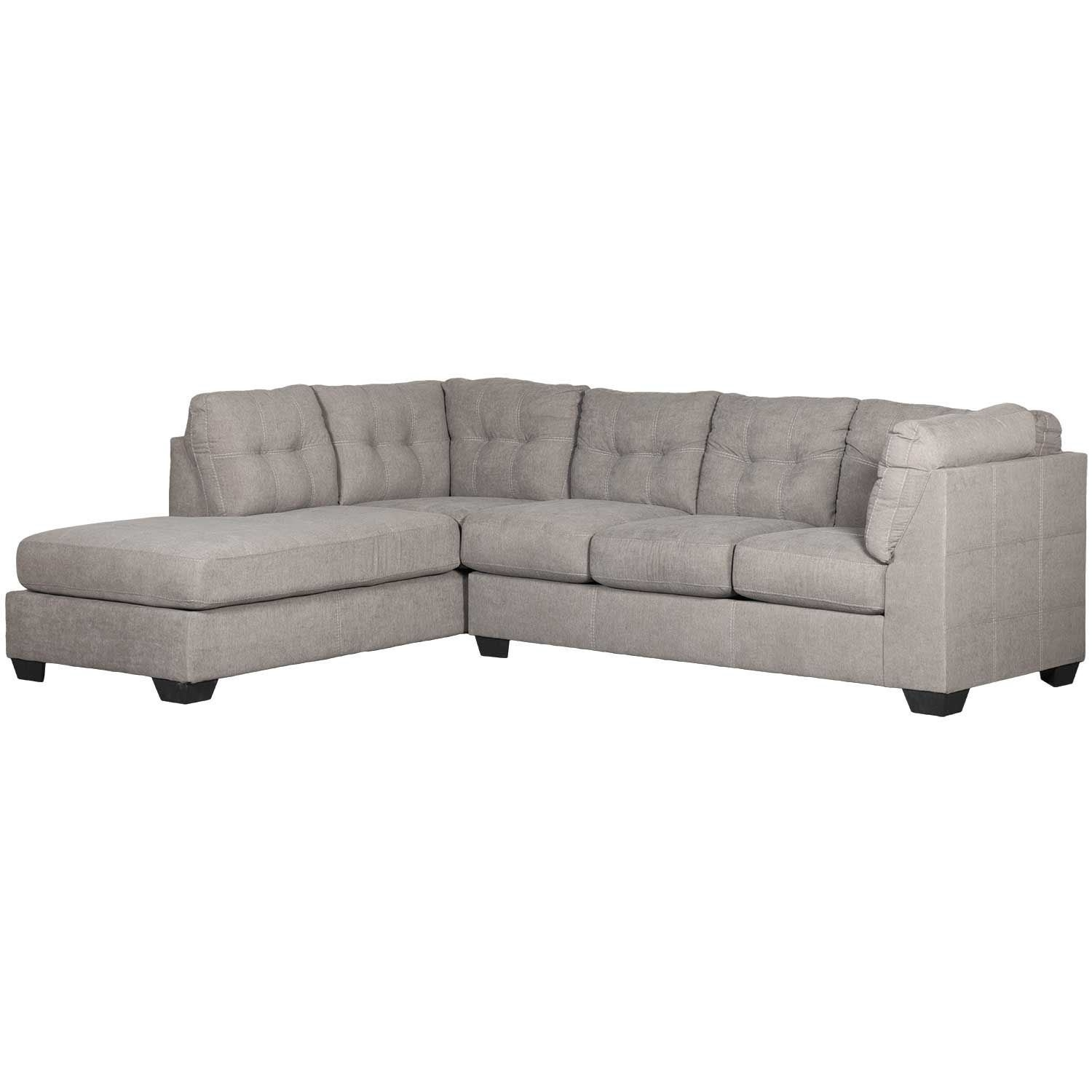 Maier Charcoal 2 Piece Sectional With Laf Chaise | 4520016/67 Inside Arrowmask 2 Piece Sectionals With Sleeper & Right Facing Chaise (Image 14 of 25)