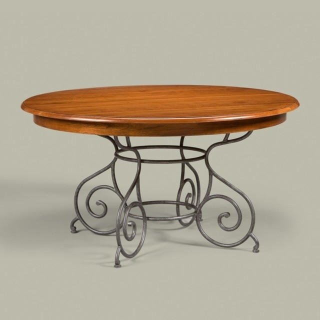 "Maisonethan Allen Brittany Table 56"" – Traditional – Dining Inside Brittany Dining Tables (Image 22 of 25)"