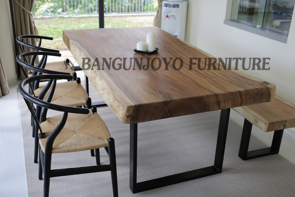 Malaysian Wood Dining Table Set/bali Dining Room Table – Buy Intended For Bali Dining Tables (Image 19 of 25)
