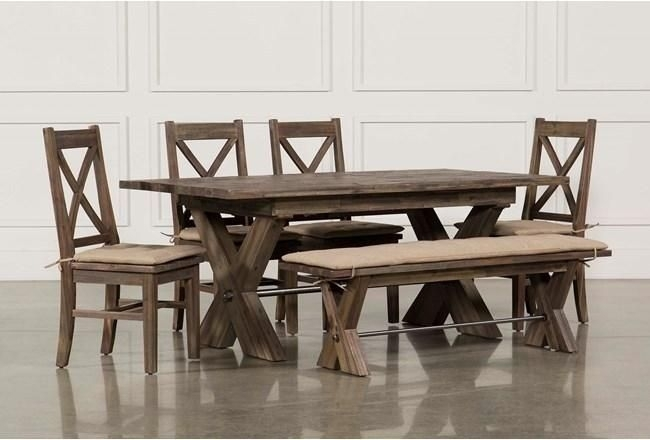 Featured Image of Amos 7 Piece Extension Dining Sets