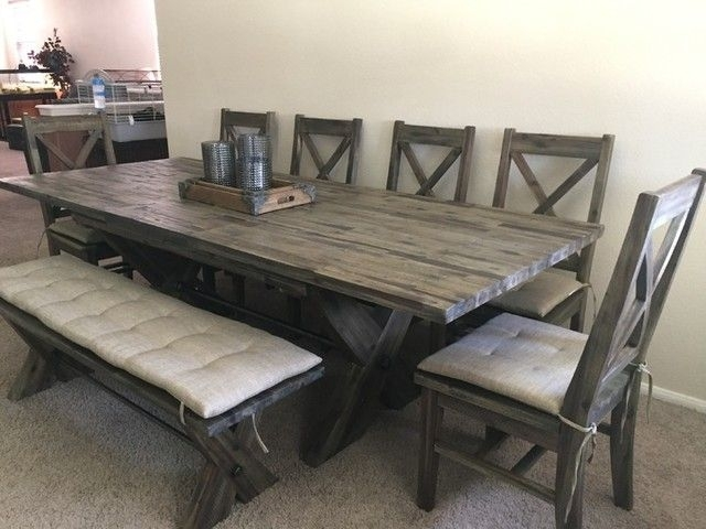 Featured Image of Mallard 6 Piece Extension Dining Sets