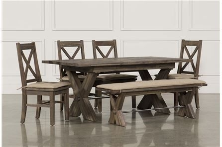 Mallard Extension Dining Table | Home Decor | Pinterest | Mallard Inside Jaxon 6 Piece Rectangle Dining Sets With Bench & Wood Chairs (Image 17 of 25)