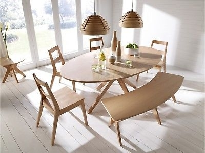 Malmo Scandinavian Style Dining Furniture – Tables Chairs Benches Within Scandinavian Dining Tables And Chairs (Image 12 of 25)
