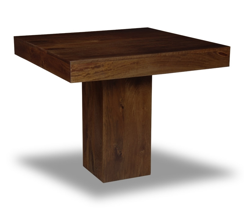 Mango 90Cm Cube Dining Table | Trade Furniture™ With Cube Dining Tables (Image 21 of 25)