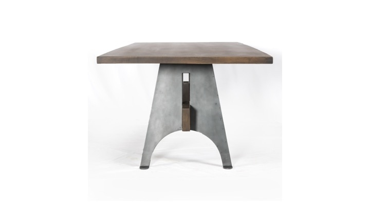 Mango Wood And Metal Dining Table | Industrial Home Throughout Mango Wood/iron Dining Tables (Image 12 of 25)
