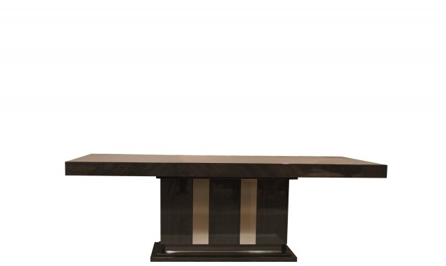 Marbella 240Cm Oak High Gloss Dining Table – Fishpools Intended For Marbella Dining Tables (View 11 of 25)