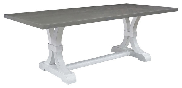 Marbella Dining Table, Gray – Dining Tables Montage Home In Marbella Dining Tables (View 4 of 25)