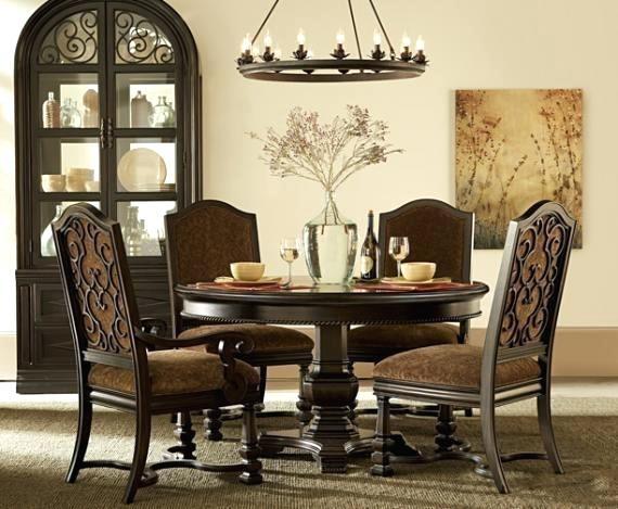 Marbella Dining Table Noir – Alpenduathlon In Marbella Dining Tables (Image 20 of 25)