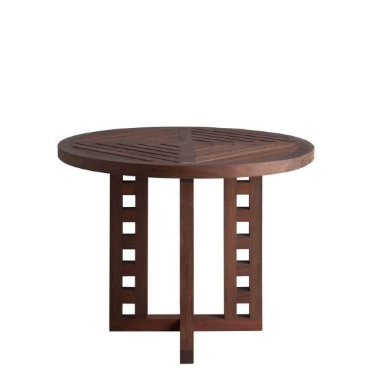 Marbella Dining Table Round 210 | Janus Et Cie Throughout Marbella Dining Tables (Image 22 of 25)